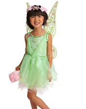 Disney Store Tinker Bell Fairy Costume Wings Shoes Wand Tiara Bonus: Tinker Doll