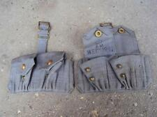 Pair of British RAF 37P Webbing .303 Ammo Pouches Air Ministry 1941 or 1942