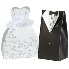 Bride & Groom Wedding Favor Boxes