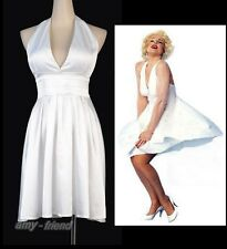 Sexy White Costume Marilyn Monroe Partywear Size S-6XL Dress AF A3231_Monroe