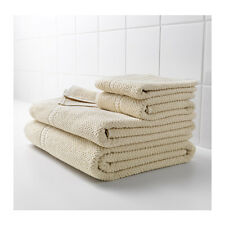 IKEA FRAJEN 100 % Cotton Towels Assorted Sizes Beige Color Free shipping.