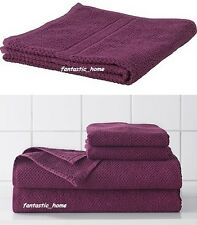 IKEA FRAJEN 100 % Cotton Towels Assorted Sizes Purple Color Free shipping.