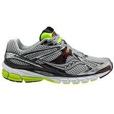 Saucony Guide 6 Mens Running Shoes Silver Grey Red Footwear Citron All Sizes