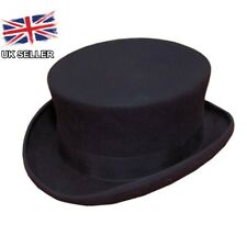 NEW MENS WOMENS LADIES BLACK DRESSAGE RIDING EQUESTRIAN TOP HAT 100% WOOL BOXED