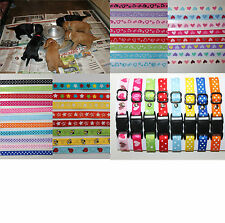 Set of 6 Puppy ID Whelping Collars Dog Breeding Kit box, Choose Your Own Colours