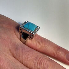BLUE MOON OF KENTUCKY (All sizes)  Elvis Tribute Ring Stainless Steel