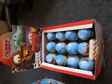 DISNEY CARS AND SMURFS 2 LIKE KINDER EGGS PK OF 3
