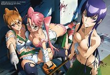 004 Highschool Of The Dead Japanese Anime Cute POSTER A4 A3 BUY 2 GET 3RD FREE