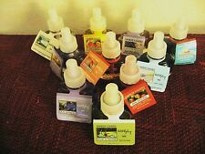 YANKEE CANDLE ELECTRIC OIL  REFILLS Y/PICK  FREE CAR JAR W PURCHASE OF 2 OR MORE