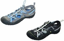 J-41 Jeep Trail Womens Arries Walking Water Shoes Vegan Athletic 6-9 Gray Black