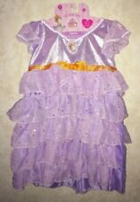 NEW Girls O/S 4-6X CDI Fancy Nancy Lavender Ruffled Posh Party Dress Up Costume