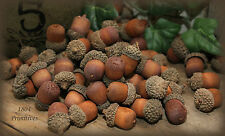 CHOICE of  Quantity ~ Wood ACORNS ~ Autumn Bowl Fillers ~ FREE SHIPPING