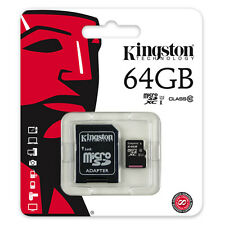 Micro SD SDHC Kingston 4GB 8GB 16GB 32GB 64GB Memory Card Class 10 TF UHS-I