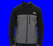 Mens The North Face APEX BIONIC Jacket TNF BLACK HEATHER WIND AND WATERPROOF