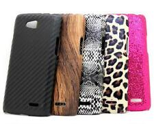 New Fashion Hard Back + PU Mixed Cover Shield Case Skin for LG L90 D405N D405