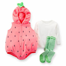 Carters FAST SHIPPING 3 6 12 18 24 Months Strawberry Halloween Costume Baby Girl