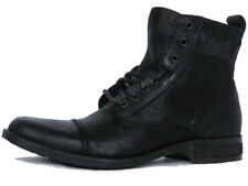 LEVI'S Mens Leather Black Boots Country Shoes Footwear 222527-872