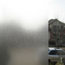 1 Meter Privacy Frosted Self Adhesive Bedroom Office Bathroom Glass Window Film