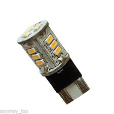 Anyray LED T10 194 Wedge Bulb. Perfect for Malibu Landscape Lights Cool White