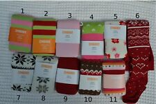 New Gymboree Baby Girls Cotton Warm Winter Tights (6-12 Months) Christmas Tights