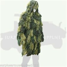 ADULTS GHILLIE JACKET CONCEALMENT SMOCK PARKA SNIPER CAMOFLAUGE HUNTING ARMY