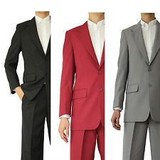 Milano Moda Design Men's 2 button Basics Suit Jacket with Pants Five color 702