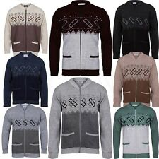 Mens classic grandad  Zip Up Cardigan and button cardigan R/neck & v/neck jumper