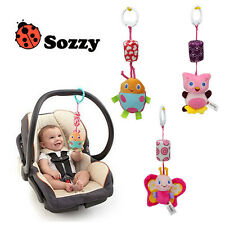 Baby Infant Soft Bed Stroller Hanging Hand Bells Rattles Music Developmental Toy