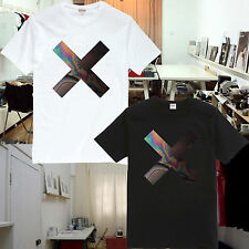 The XX Rock Band Tee T-Shirts Coexist Cross Indie Crooks AMSTERDAM BURGUNDY TX01