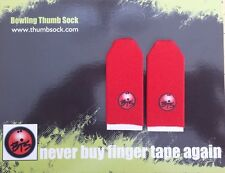 Bowling Thumb Sock Perfect for 16lb, 15lb, 14lb ball