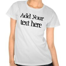 Custom Personalized T-Shirt - Your Text !!  ***100% Cotton***