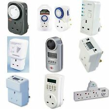 Mechanical/Digital/Analog Electrical Time Switch Timers 24 Hour/Weekly/Countdown