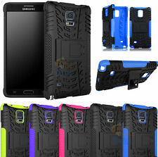 For Samsung Galaxy Note 4 N9100 Tank Case Protective Cover Armor Kickstand Combo