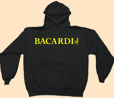Hooded Sweat Shirt, Bar Staff, Club Promo, Rum, Bacardi, Black Gildan Heavy Wt.