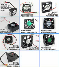 10pcs ADDA Multi-Optional Sizes Styles DC Cooling fans Blower fans 20mm to 70mm