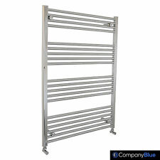 750mm Wide 1100mm high Bathroom Heated Towel Rail Radiators Rad Chrome Straight