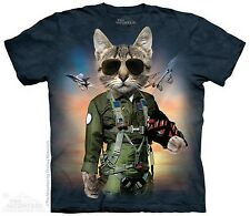 Tom Cat Airborne Military Soldier The Mountain Adult T-Shirt