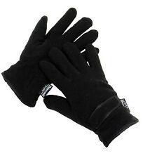 Mens Thinsulate Insulation Winter Fleece Outdoor Gloves One Size