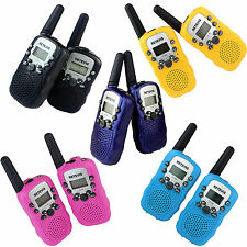 2PCS RT-388 Walkie Talkie UHF US Euro Frequency For Children Kid Two-Way Radio