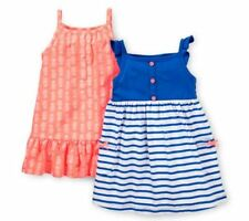 Carters 6 Months Striped & Pineapple Dress Set Baby Girl Clothes Cotton Summer