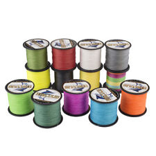 Dyneema 6LB-100LB Spectra 100% PE Braid Line 100M 109Yards Casting Power Fishing