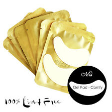 (25~300 pcs) Comfy Curved Lint Free Gel Eye Pad Patch For Eyelash Extensions