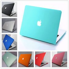 "12 Colors Rubberized Hard Matte Case Cover For Macbook Pro 13""/15"" inch Retina"
