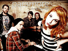 0112 Paramore American Rock Band Hayley Williams POSTER A4 A3 BUY 2 GET 3RD FREE
