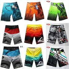 MENS SURF BOARD SHORTS PANTS SWIMMING BEACH SHORTS SZ 30 32 34 36 38