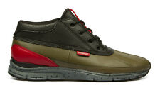 Gourmet Footwear Quadici Lite Military Olive/Chili Sneaker *NEW* +Free Shipping