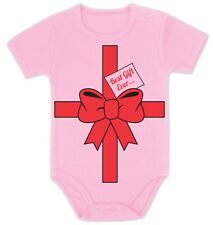 Best Gift Ever Baby Onesie Baby Shower Present Idea Cute Bow First Christmas
