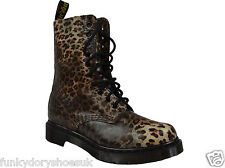 DR MARTIN 1490 NEW WOMENS LADIES LACE UP COMBAT PUNK WINTER ANKLE BOOT SIZES 3-8