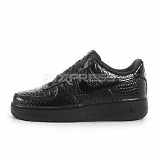 WMNS Nike Air Force 1 '07 PRM [616725-002] NSW Casual Crocs Black/Silver