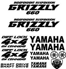 Sticker Decal Kit for Yamaha Grizzly 660 Fender Tank Emblem Graphic